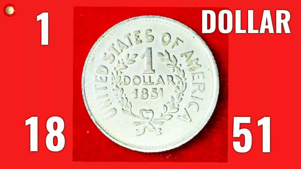 1 DOLLAR 1851 Great Value