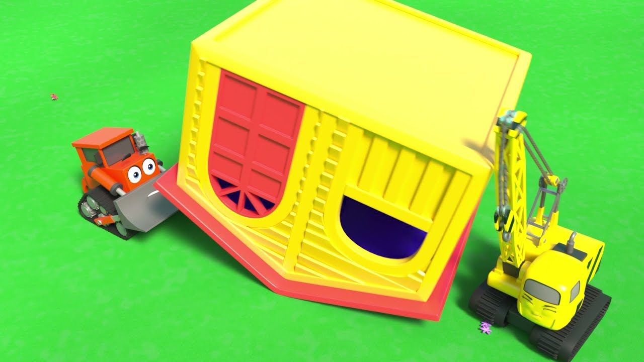 Here is Solar Power!! - Digley and Dazey | Construction Cartoons for Kids