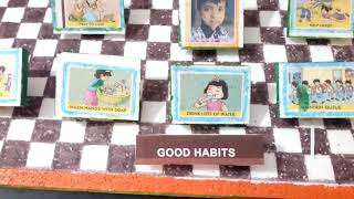 Good Habits project work for LKG. Don by Rishith Vanjari LKG.