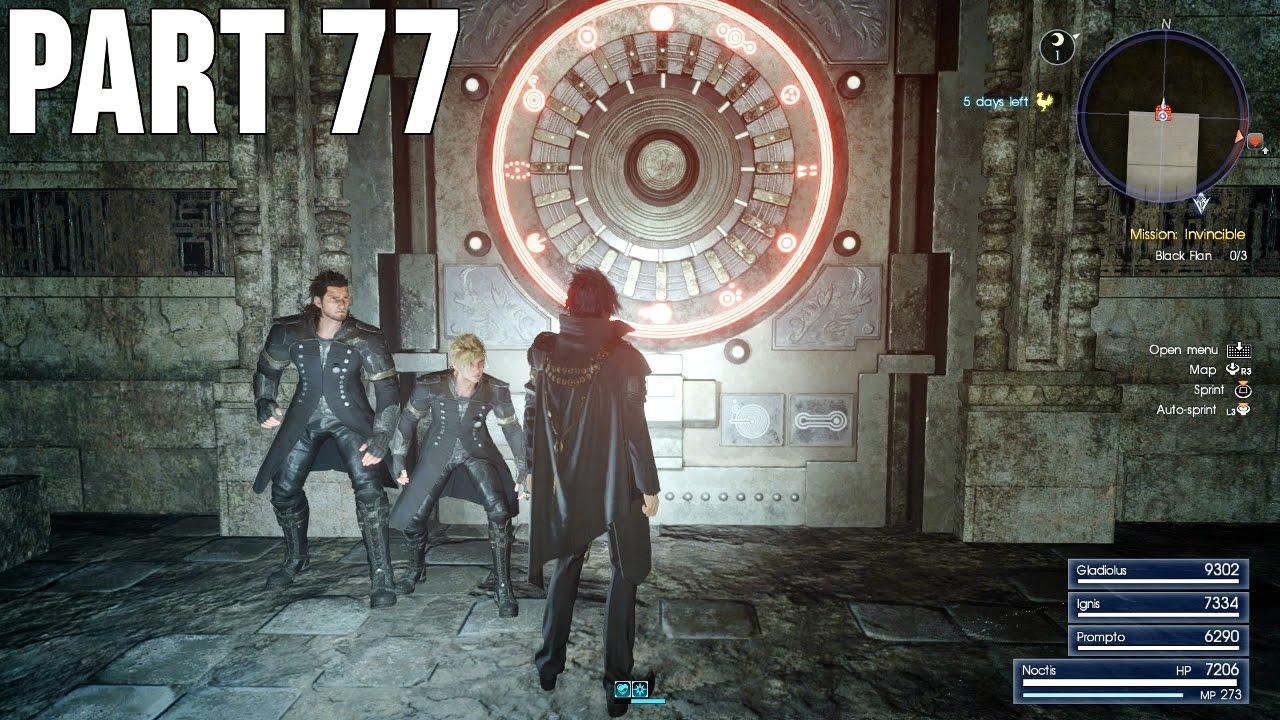 Final Fantasy Xv 100 Walkthrough Part 77 Ps4 A