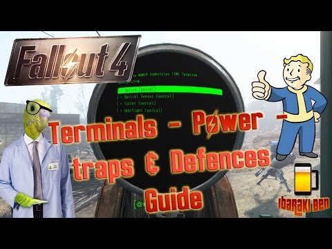 Fallout 4 Settlements Guide - Terminals and Defences