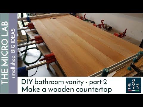 How to build a Bathroom Vanity - part 2 - The Top / Countertop