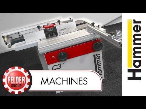 Hammer C3 31 Combination Machine