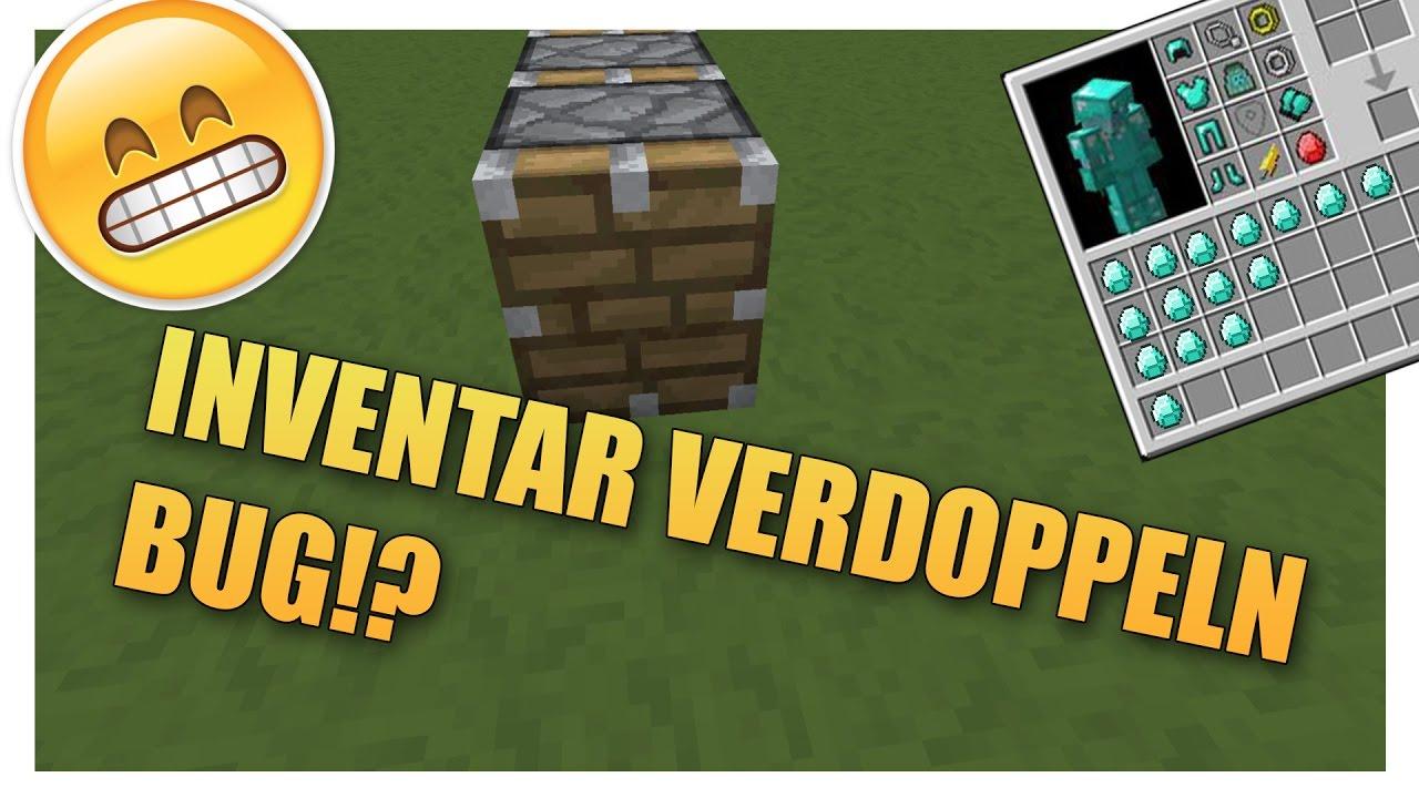 INVENTAR VERDOPPELN JEDE VERSION Minecraft Clipzuicom - Minecraft hauser klonen