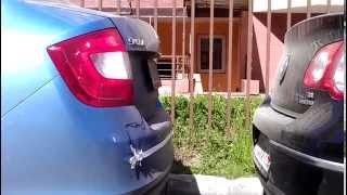 Тест ленточного (электромагнитного) парктроника U-301(В предыдущем видео (http://www.youtube.com/watch?v=2rRYFrEk1OM) был представлен тест парктроника, что называется