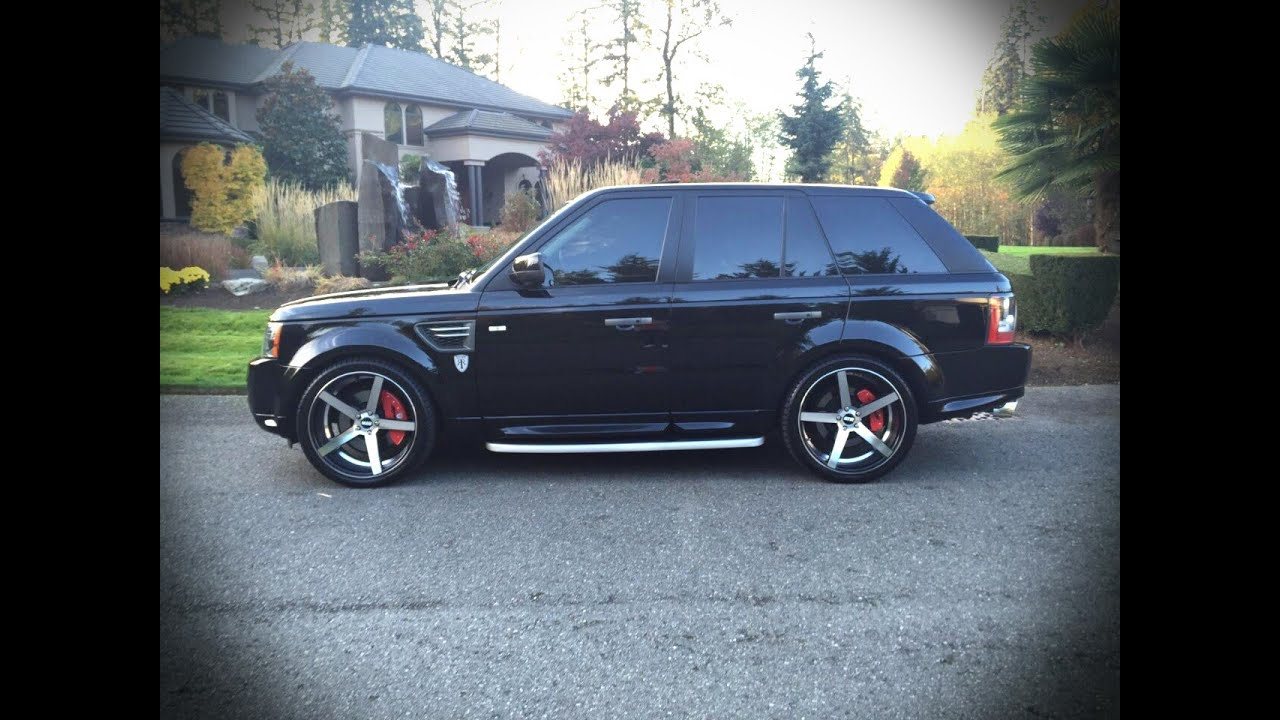 2011 Land Rover Range Rover Sport On Str 607 22 Concave