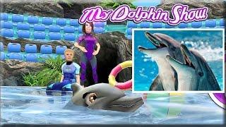 Развивающий мультик игра про дельфина [3] Факты о дельфинах для детей