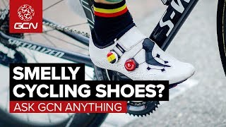 Smelly Cycling Shoes, Cramping & Sprinting Tips | Ask Gcn Anything