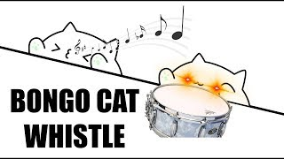 Bongo Cat Scream, But With Whistle Only