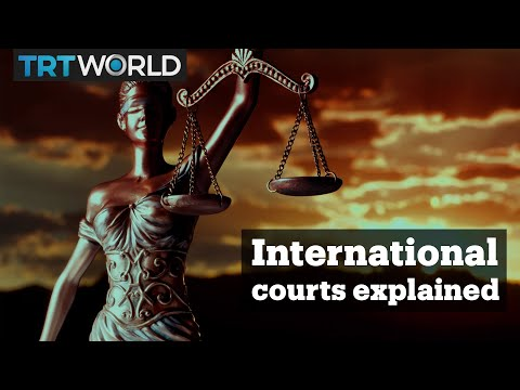 Explaining international justice