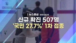[코로나19 특집] 신규 확진 507명 '국민 27.7…
