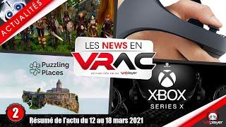 #PSVR #PlayStationVR | Actualités de la semaine | 002 | Les News en VRAC VR4Player