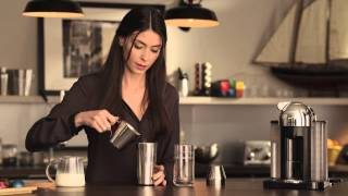 How to make a Coffee Milkshake with Nespresso VertuoLine