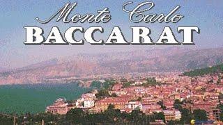 Monte Carlo Baccarat gameplay (PC Game, 1991)