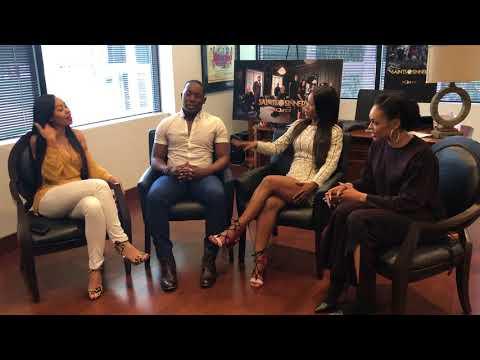 Host Quentin T. Harris s Dawn Halfkenny, Jasmine Burke & Demetria McKinney