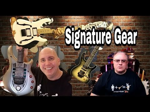 What Guitar Player Has the Most Expensive and Cheapest Signature Rig?