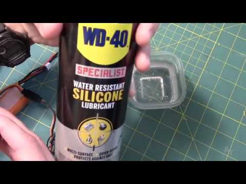 WD40 Silicone for Waterproofing Electronics--Further Testing