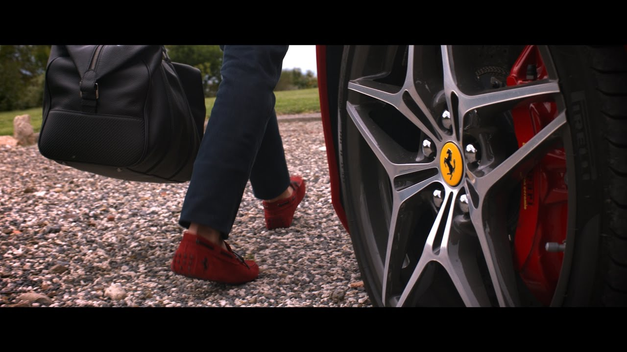 b75d3e949bc Tod s for Ferrari Collection - YouTube