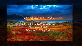 MỘT THOÁNG MÂY NGÀN -Hồng Tước/Nguyễn Hà