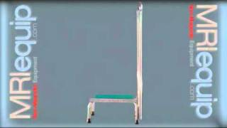 Mri Safety Step Stool With Single Rail