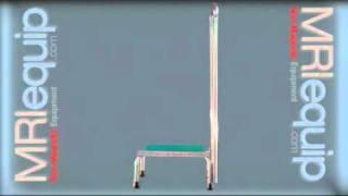 Mri Safety Step Stool With Single Rail