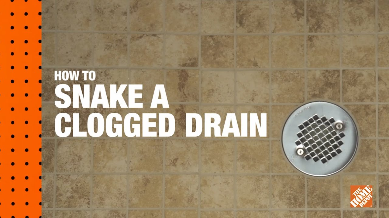 How To Snake A Clogged Drain: A DIY Digital Workshop | The ...