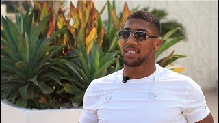 ANTHONY JOSHUA EXPLAINS WHY HE'S NOT FIGHTING DEONTAY WILDER
