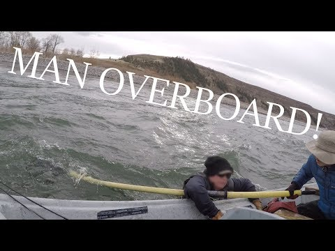 MAN OVERBOARD!! - Capsizing Disaster on the Yellowstone River (Fishing Montana)