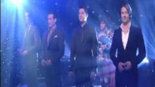 Il Divo Amazing Grace GMTV 16th Dec 2008