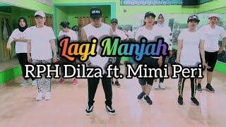 Download lagu RPH  Dilza - Lagi Manjah ft. Mimi Peri | JOGET | DANCE | ZUMBA | FITNESS | At RAD Studio Penajam