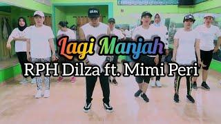 RPH Dilza Lagi Manjah ft Mimi Peri JOGET DANCE ZUMBA FITNESS At RAD Studio Penajam