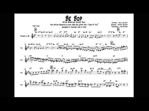 Be Bop - Arturo Sandoval's Trumpet Solo Transcription