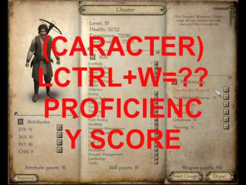 cheats for warband