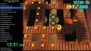 Ms. Pac-Man: Maze Madness 100% (N64) Speedrun in 2:37:23 (2:35:01 IGT) (Current World Record)