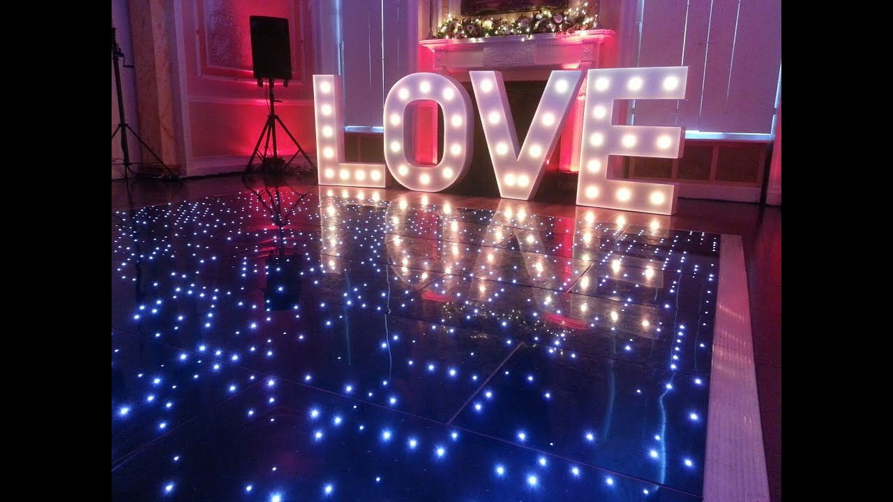 Led Dance Floor Hire Great For Weddings Disco And Events