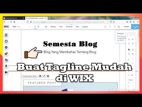 cara-buat-tagline-blog-di-wix-mudah-terbaru-2020