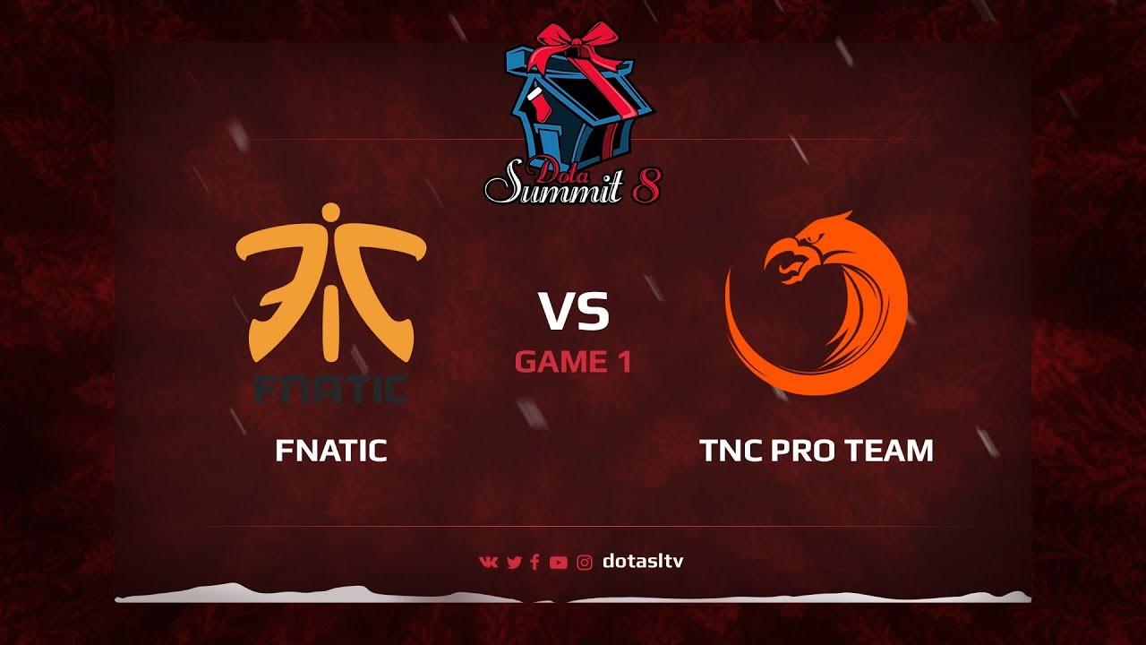 Fnatic против TNC Pro Team, Первая карта, Квалификация на Dota Summit 8