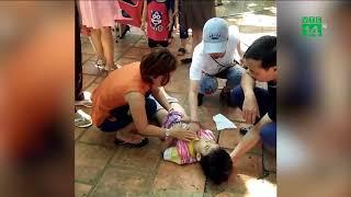 VTC14 | Đắk Lắk: đứt dây cáp khiến hai cháu nhỏ bị thương