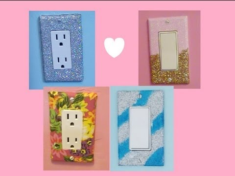 Diy Glam Lightswitch Covers Youtube