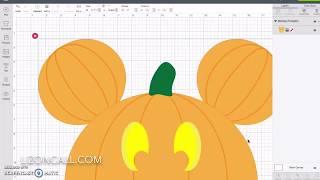 DIY Mickey Pumpkin Shirt