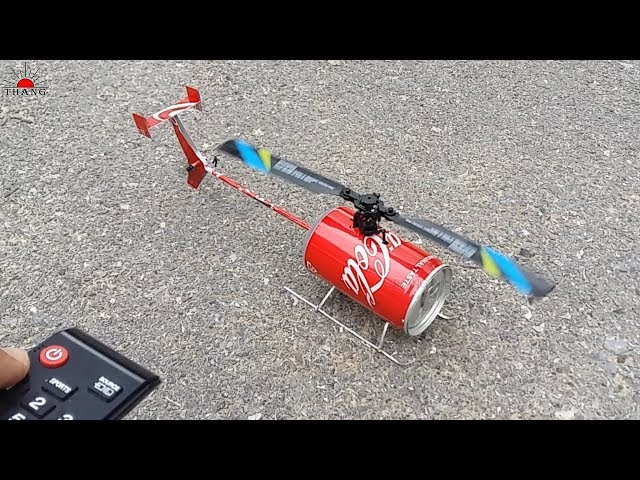 How to make Remote Control Helicopter   DIY Helicopter at home