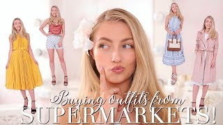 BUYING OUTFITS FROM SUPERMARKETS! ~ Freddy My Love
