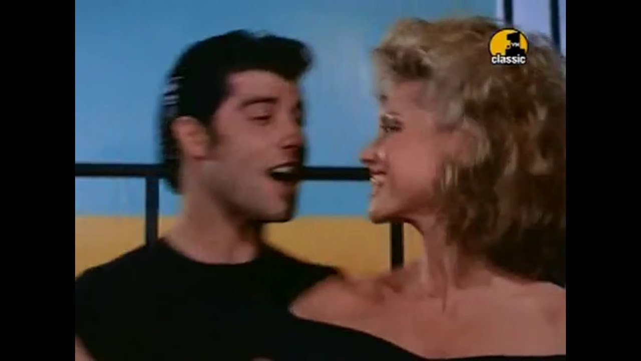 John Travolta & Olivia Newton-John - You Are The One That I Want [ Grease,  1978]