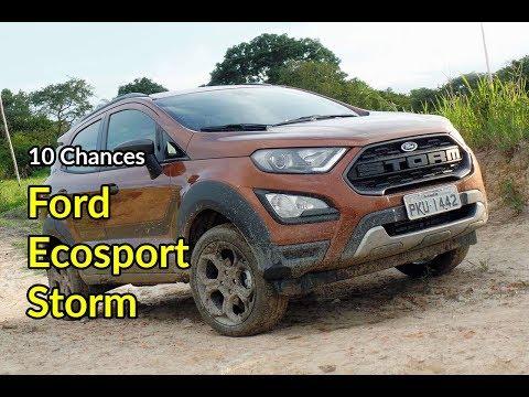 10 Chances: Ford Ecosport Storm 4WD é melhor no asfalto que na lama | Avaliação | Best Cars