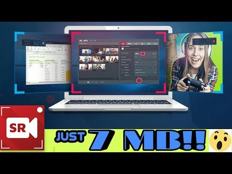 How to download Screen Recorder for your pc Just 7MB!!