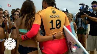 Vans US Open of Surfing Women's CT Trailer