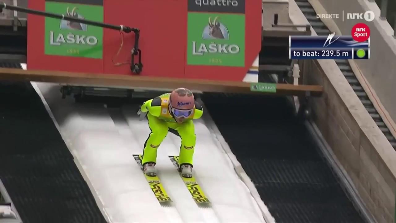Stefan Kraft 250 m Planica 2017