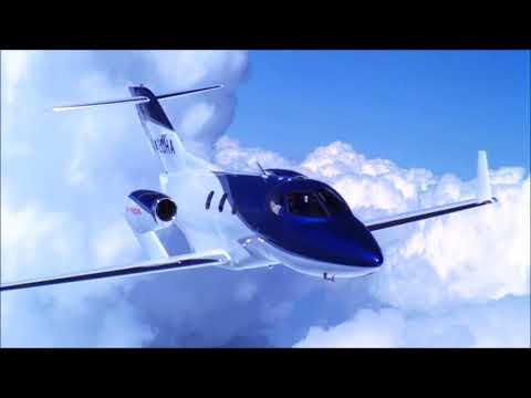 hondajet or honda jet look it in the air one of the most beautiful jets in the market