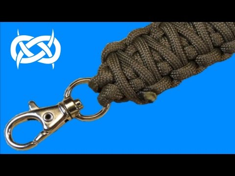 how-to-make-a-keychain-paracord-lanyard