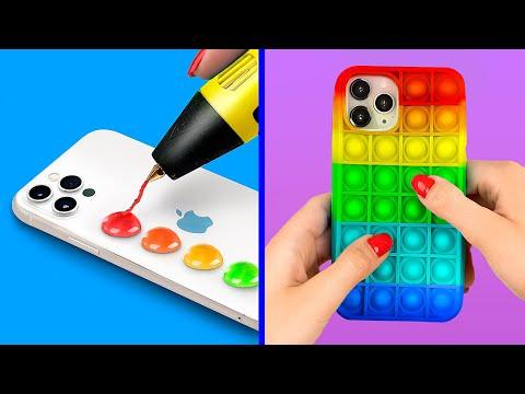 Антистресс чехол Pop It! Модные идеи чехлов для телефонов из ТикТок!